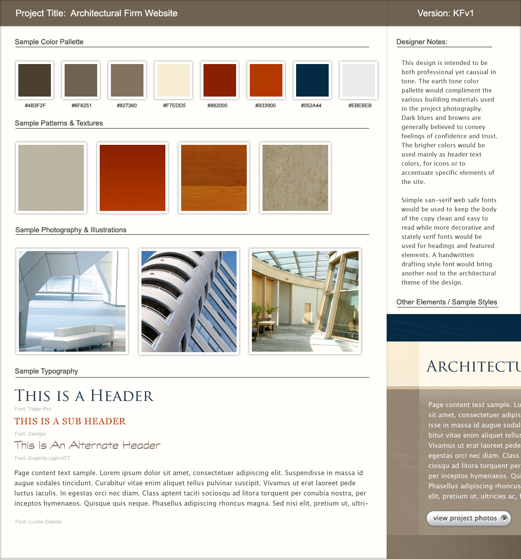 Website Mood Boards A Successful Precursor To Visual